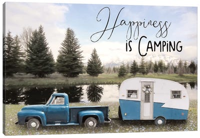 Spring Camping II   Canvas Art Print