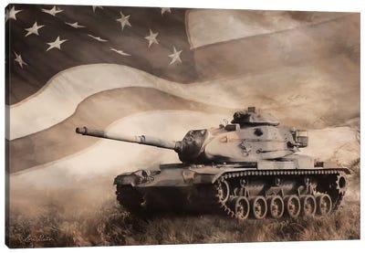 The Liberator Tank Canvas Art Print