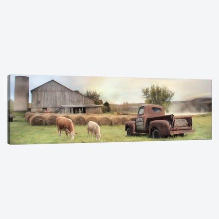 Tioga County Farmland Canvas Print #LOD204} by Lori Deiter Art Print