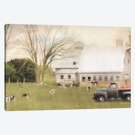 Virginia Dairy Farm Canvas Print #LOD208} by Lori Deiter Canvas Wall Art