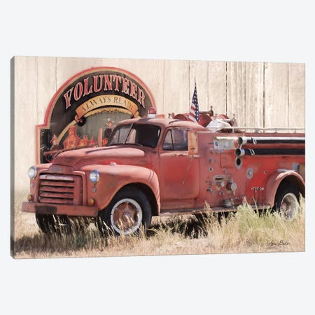 Volunteer Firefighter Canvas Print #LOD209} by Lori Deiter Canvas Art