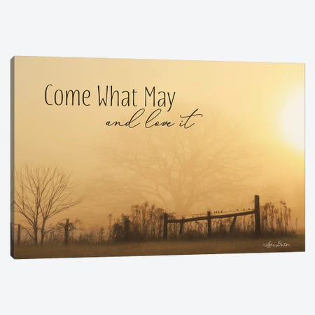 Come What May 3-Piece Canvas #LOD214} by Lori Deiter Canvas Art