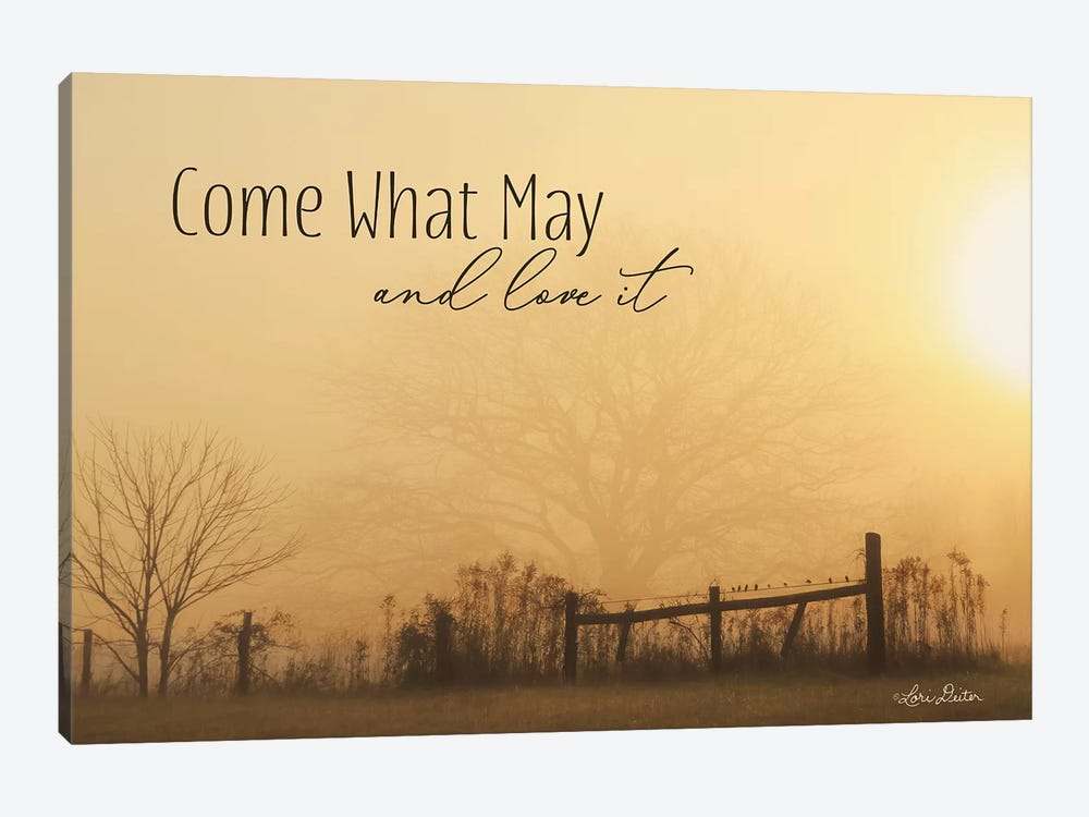 Come What May by Lori Deiter 1-piece Canvas Wall Art