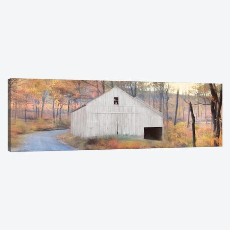 Fall at the Barn Canvas Print #LOD216} by Lori Deiter Canvas Art