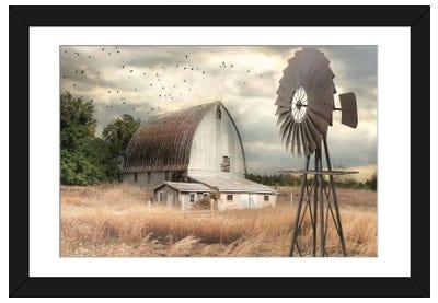 Henderson Bay Farm Framed Art Print