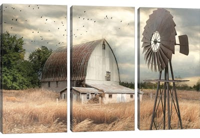 Henderson Bay Farm Canvas Art Print