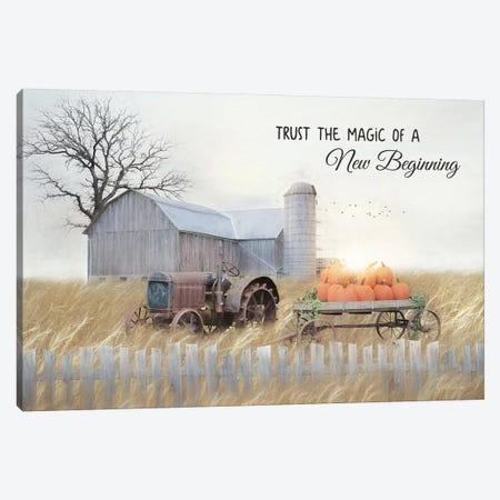 New Beginning Canvas Print #LOD222} by Lori Deiter Canvas Artwork