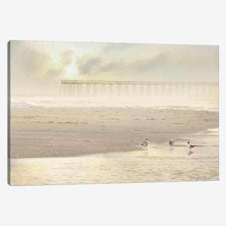 Ocean City Pier Canvas Print #LOD223} by Lori Deiter Canvas Wall Art