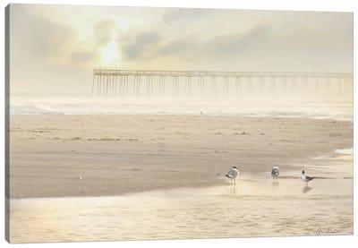 Ocean City Pier Canvas Art Print