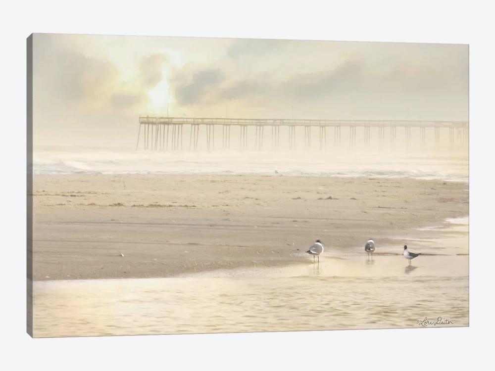 Ocean City Pier by Lori Deiter 1-piece Canvas Wall Art