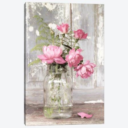 The True Rose Canvas Print #LOD227} by Lori Deiter Art Print