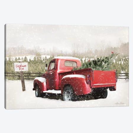 Christmas Tree Pick Canvas Print #LOD237} by Lori Deiter Canvas Artwork