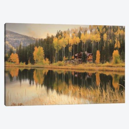 Durango Reflections Canvas Print #LOD241} by Lori Deiter Canvas Art