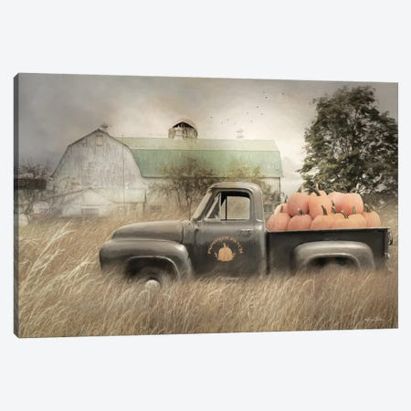 Happy Harvest Truck Canvas Print #LOD248} by Lori Deiter Canvas Art
