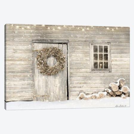 Old Farm Christmas Canvas Print #LOD255} by Lori Deiter Canvas Wall Art