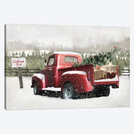Winter Stop Canvas Print #LOD277} by Lori Deiter Canvas Wall Art