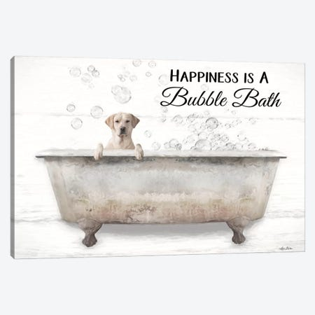 Bubble Bath Canvas Print #LOD279} by Lori Deiter Canvas Art Print