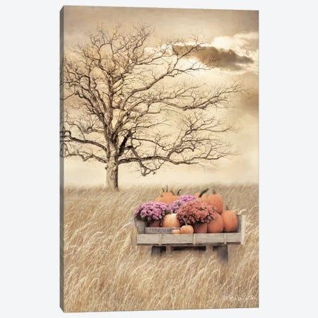 Fall Wagon      Canvas Print #LOD280} by Lori Deiter Canvas Art
