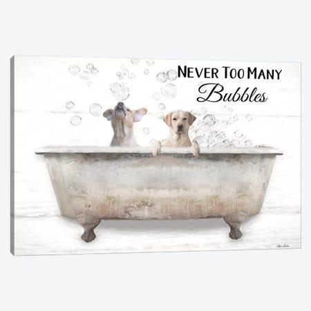 Never Too Many Bubbles Canvas Print #LOD287} by Lori Deiter Canvas Art Print