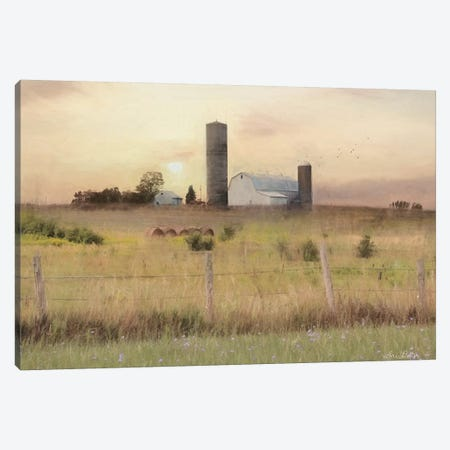 Sunset at the Dexter Farm      Canvas Print #LOD292} by Lori Deiter Canvas Print