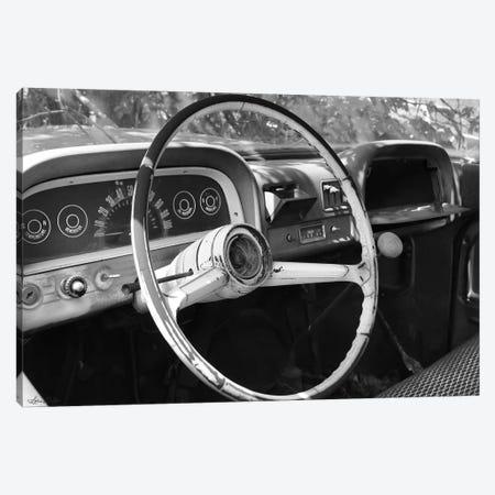 Chevy Steering Wheel Canvas Print #LOD302} by Lori Deiter Art Print