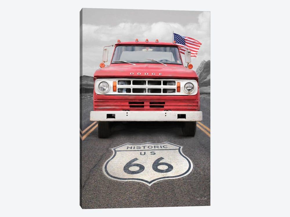 Dodge On Route 66 by Lori Deiter 1-piece Canvas Art Print