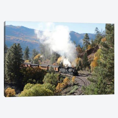 Durango Silverton Train IV Canvas Print #LOD304} by Lori Deiter Canvas Artwork
