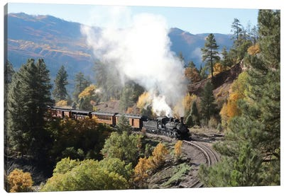 Durango Silverton Train IV Canvas Art Print