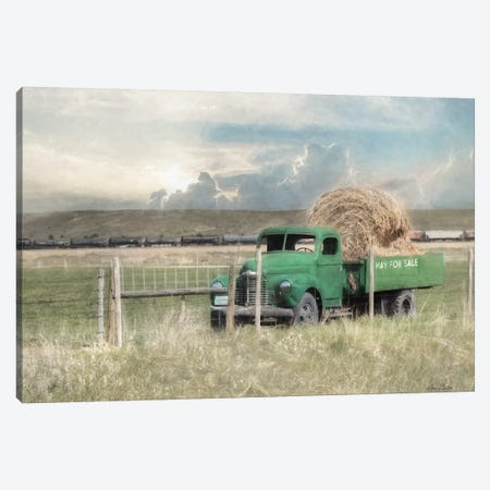Hay For Sale Canvas Print #LOD308} by Lori Deiter Canvas Print