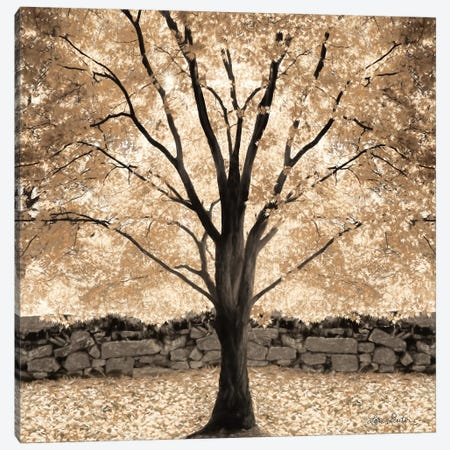 Gold Canopy Tree Canvas Print #LOD30} by Lori Deiter Canvas Print