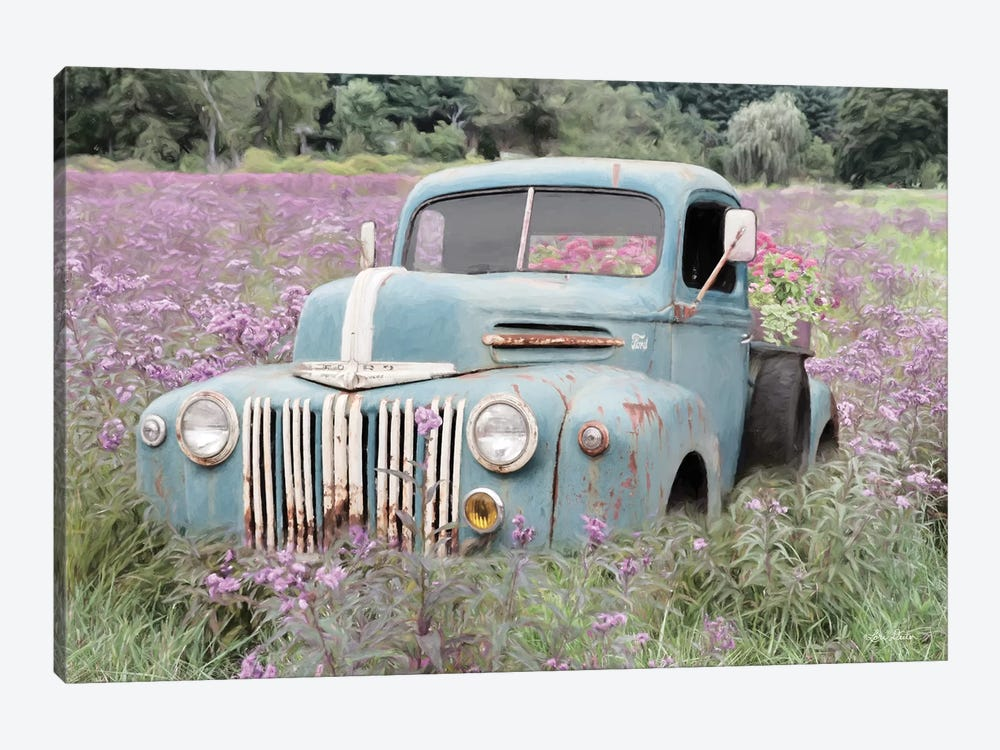 Truckload Of Happiness by Lori Deiter 1-piece Canvas Wall Art