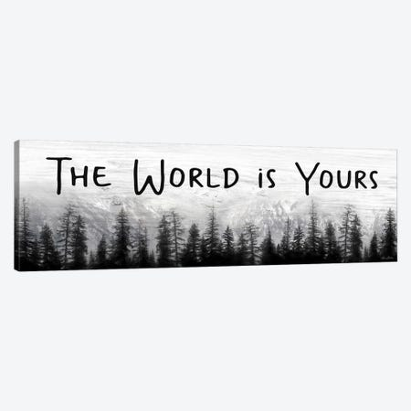 The World is Yours Canvas Print #LOD317} by Lori Deiter Art Print