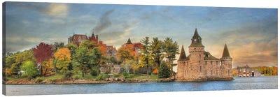 Autumn at the Castle Canvas Art Print