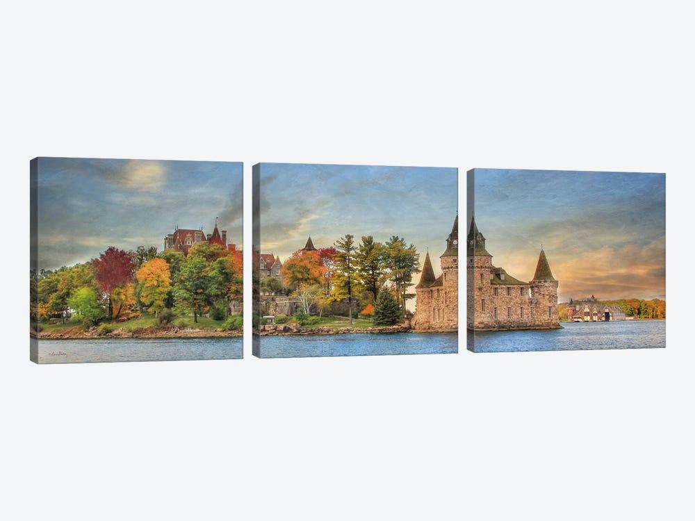 Autumn at the Castle by Lori Deiter 3-piece Canvas Art