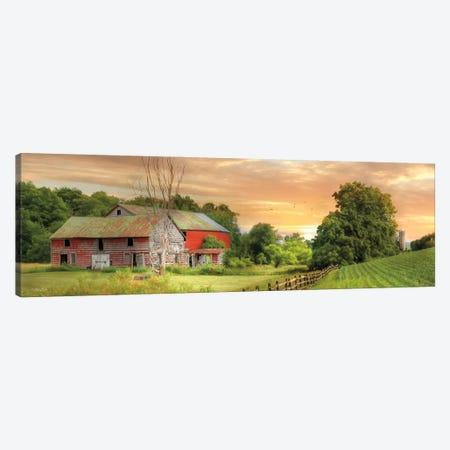 Greener Pastures Canvas Print #LOD322} by Lori Deiter Art Print
