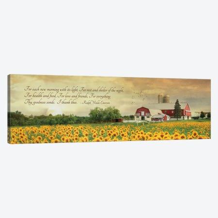 I Thank Thee Canvas Print #LOD325} by Lori Deiter Canvas Artwork