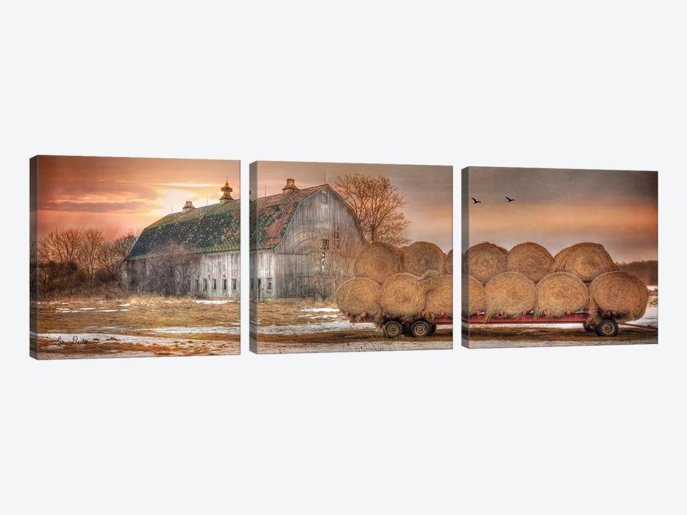 Sunset on the Far by Lori Deiter 3-piece Art Print