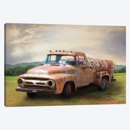 Truckload Of Beauty Canvas Print #LOD346} by Lori Deiter Canvas Wall Art