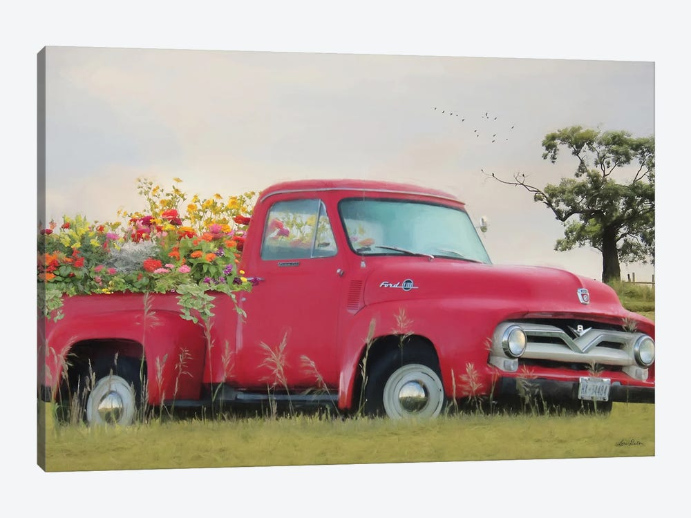 Truckload Of Happiness by Lori Deiter 1-piece Canvas Art Print