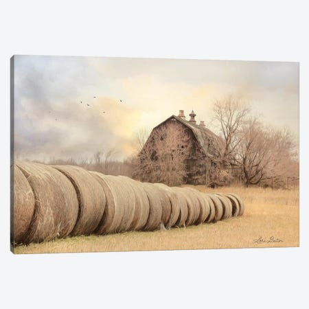 Good Day on the Farm Canvas Print #LOD34} by Lori Deiter Canvas Wall Art