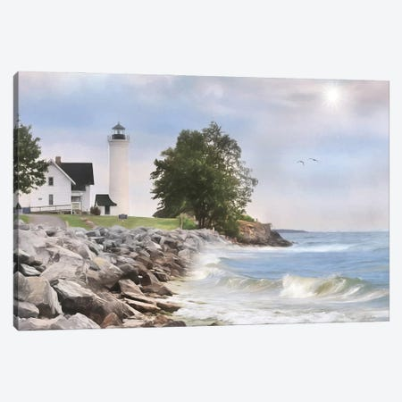Afternoon at Tibbetts Point Canvas Print #LOD351} by Lori Deiter Canvas Wall Art