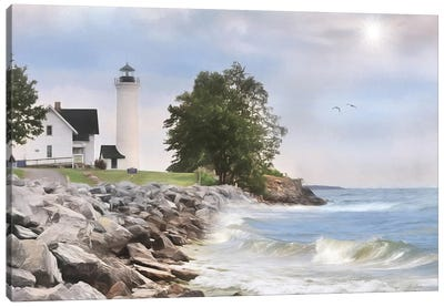 Afternoon at Tibbetts Point Canvas Art Print