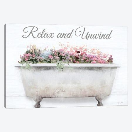 Relax & Unwind Canvas Print #LOD374} by Lori Deiter Art Print