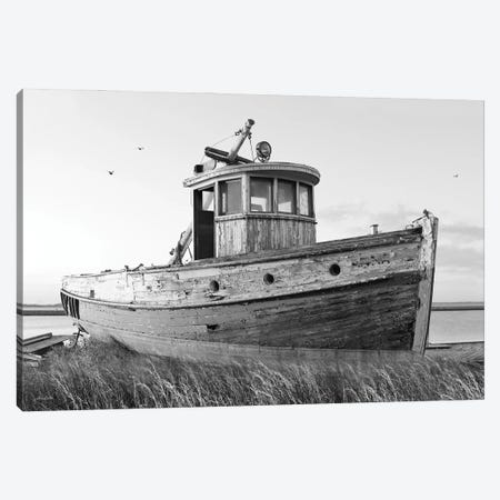 This Old Boat I Canvas Print #LOD381} by Lori Deiter Canvas Print