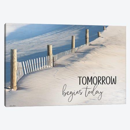 Tomorrow Begins Today Canvas Print #LOD382} by Lori Deiter Canvas Print