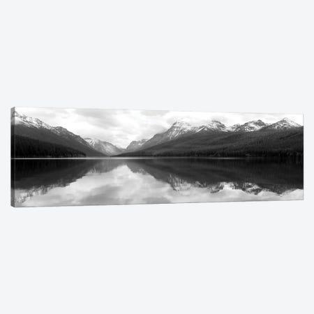 Bowman Lake Reflections Canvas Print #LOD411} by Lori Deiter Canvas Print