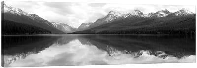 Bowman Lake Reflections Canvas Art Print