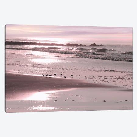 Breakfast On The Beach Canvas Print #LOD412} by Lori Deiter Canvas Art Print