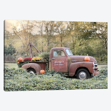My Wife Borrowed the Truck Canvas Print #LOD44} by Lori Deiter Canvas Art Print