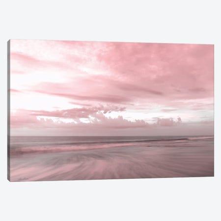 Pink Beach Emotions Canvas Print #LOD450} by Lori Deiter Canvas Art Print